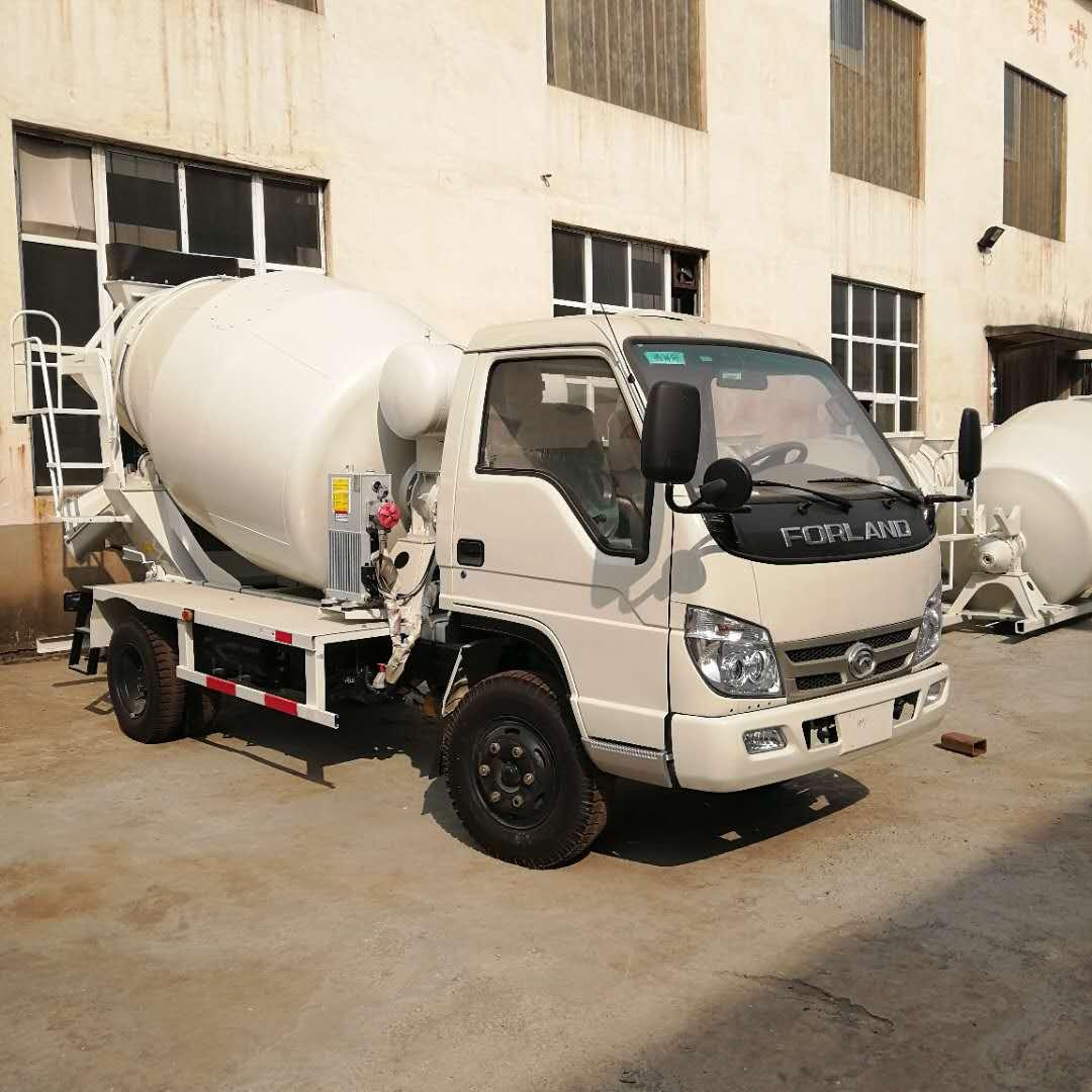 福田3立方混凝土搅拌车